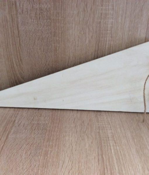 Holzherz weiß zum Hängen, 17x47/50 cm , EAN 4251123304834