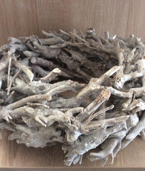Treibholz-Kranz 45 cm Durchmesser geschält, grau gewaschen, ca.15cm dick, EAN 4251123301017