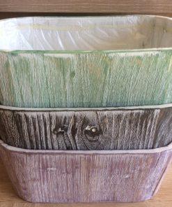 Holzpflanzgefäße